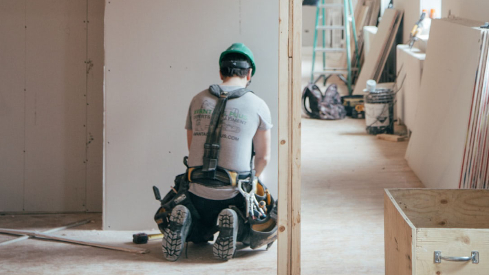 temporary heating for construction